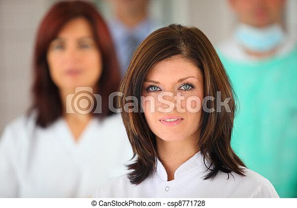 Medical team - csp8771728