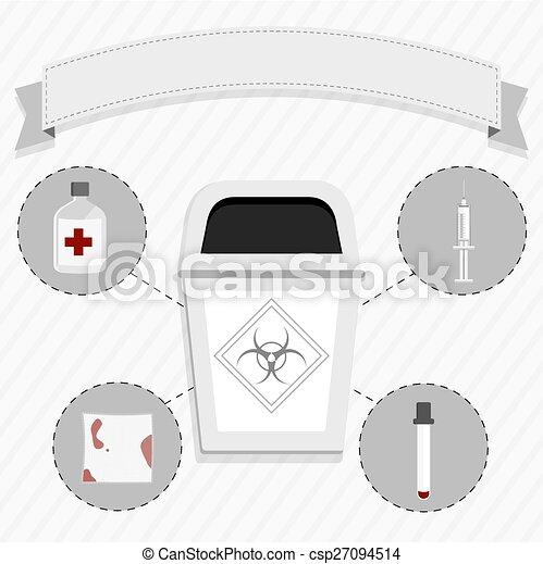 Medical waste - csp27094514