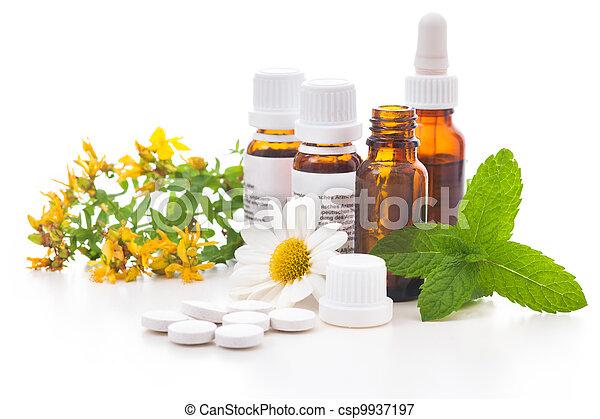 medicin, alternativ - csp9937197