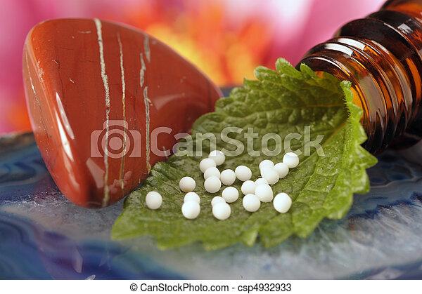 medicin, alternativ - csp4932933