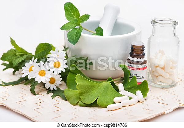medicina, alternativa - csp9814786