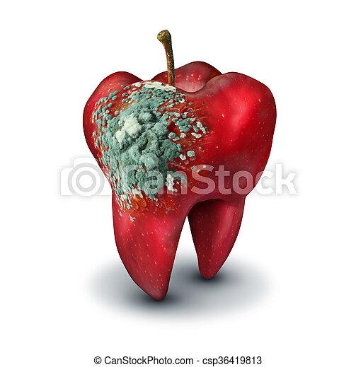 medicina, dentale, concetto - csp36419813