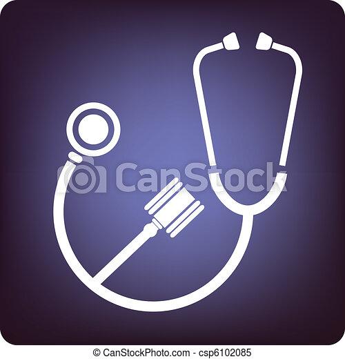 Medicina y ley - csp6102085