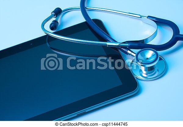 medicina, nueva tecnología - csp11444745