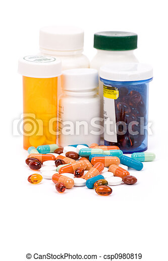 medicina, píldoras - csp0980819