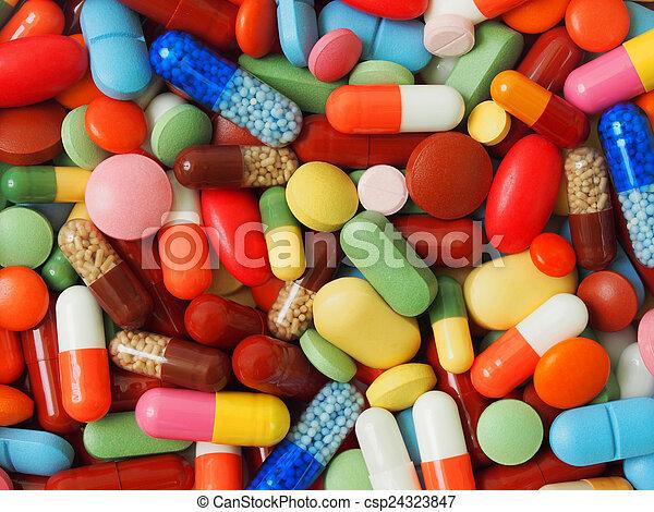 medicina, plano de fondo - csp24323847