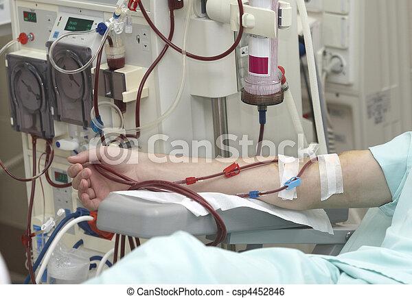 medicina, salud, diálisis, riñón, cuidado - csp4452846