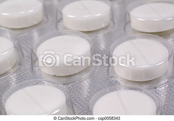 Tabletas médicas - csp0058343