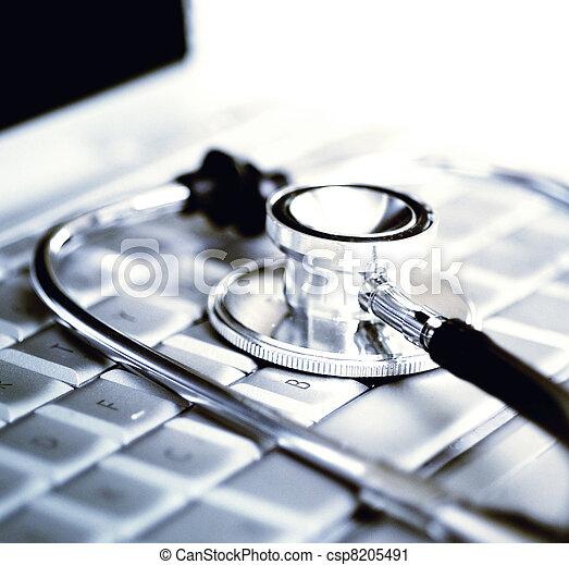 medicina, tecnología - csp8205491
