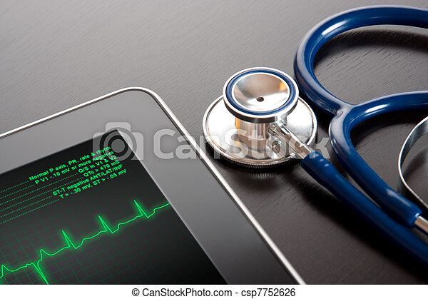 Medicine and new technology - csp7752626