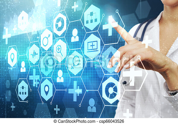 Medicine and science concept - csp66043526