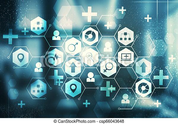 Medicine and science concept - csp66043648
