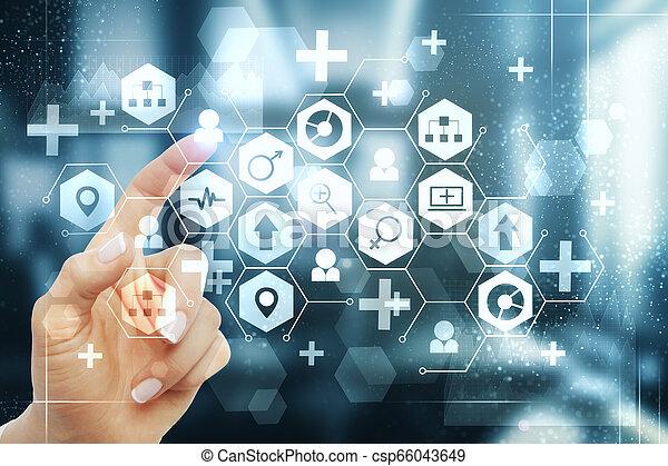 Medicine and science concept - csp66043649