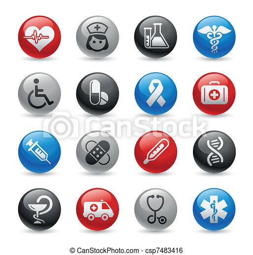 Medicine & Heath Care / Gel Pro - csp7483416
