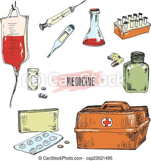 medicine. - csp23021495