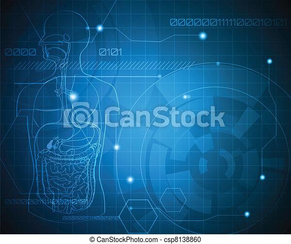 medicinsk, baggrund - csp8138860