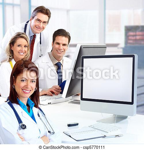 medicinsk, doktorer - csp5770111