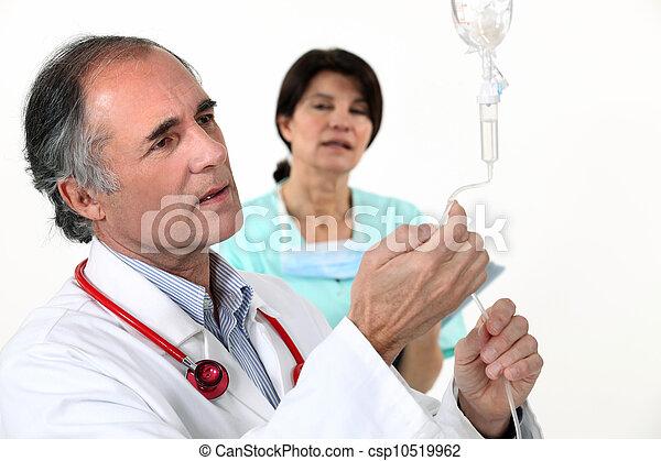 medicinsk, droppa - csp10519962