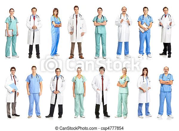 medicinsk, folk - csp4777854