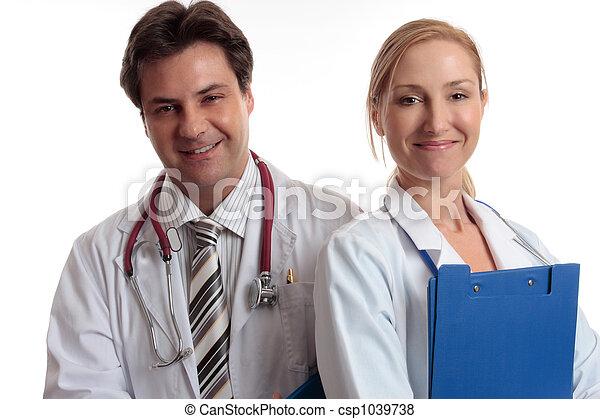 medicinsk, glade, stab - csp1039738