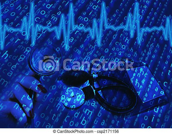 medicinsk, tema - csp2171156