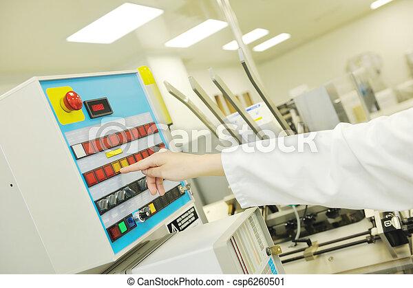medico, produzione, fabbrica, interno - csp6260501