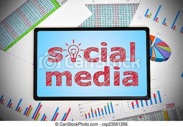 Soziale Medien - csp23561266