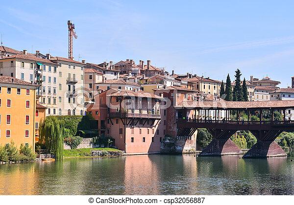 Medieval City Bassano del Grappa - csp32056887