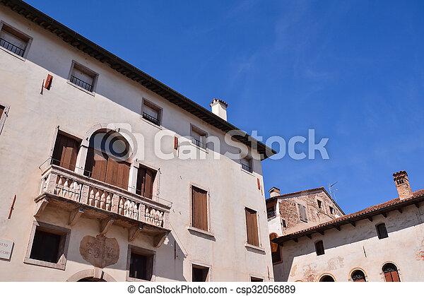 Medieval City Bassano del Grappa - csp32056889