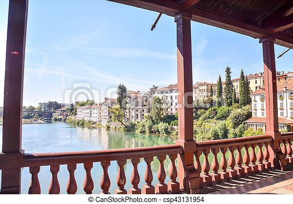 Medieval City Bassano del Grappa - csp43131954