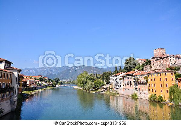 Medieval City Bassano del Grappa - csp43131956