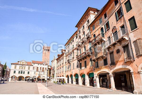 Medieval City Bassano del Grappa - csp86177150