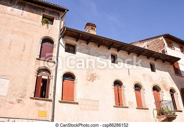 Medieval City Bassano del Grappa - csp86286152