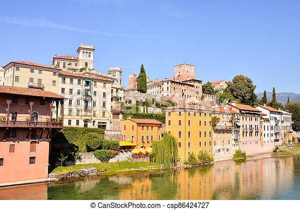 Medieval City Bassano del Grappa - csp86424727