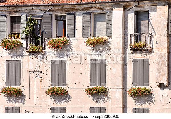 Medieval City Bassano del Grappa - csp32386908
