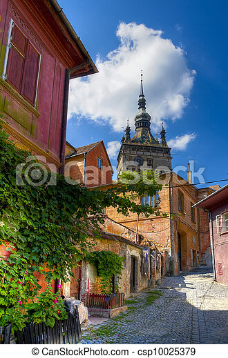 medieval city of sighisoara - csp10025379