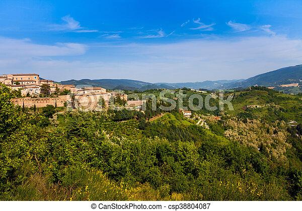 Medieval city Urbino in Italy - csp38804087