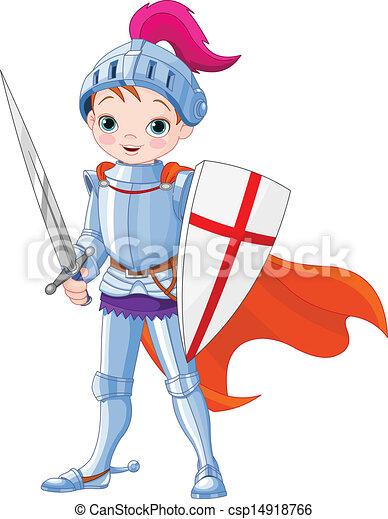 Medieval knight  - csp14918766