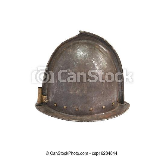 Medieval Knight Helmet - csp16284844