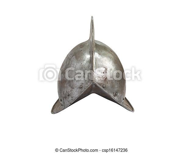 Medieval Knight Helmet - csp16147236