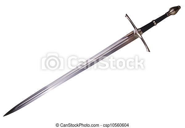 medieval sword - csp10560604