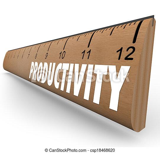 medindo, escola, produtividade, saída, habilidades, régua, resultados, eficiência, apontado, aprendizagem, progresso, melhorar, novo, palavra, direção, madeira, ilustre - csp18468620