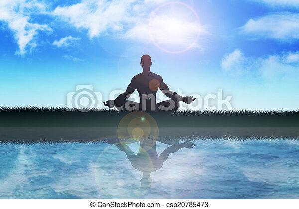 meditação - csp20785473