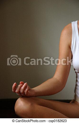 meditación - csp0182623