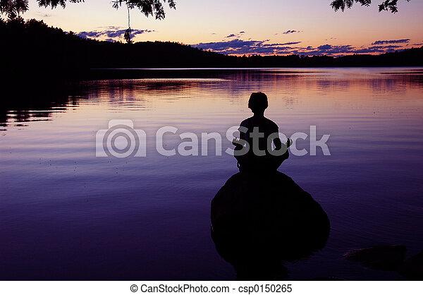meditación - csp0150265