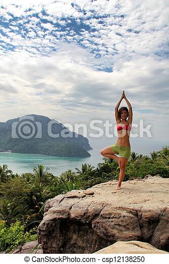 meditación - csp12138250