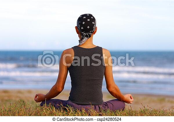 meditación - csp24280524