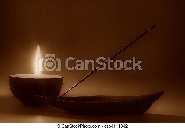 meditación - csp4111342