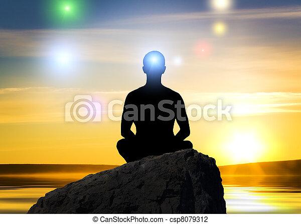meditación - csp8079312