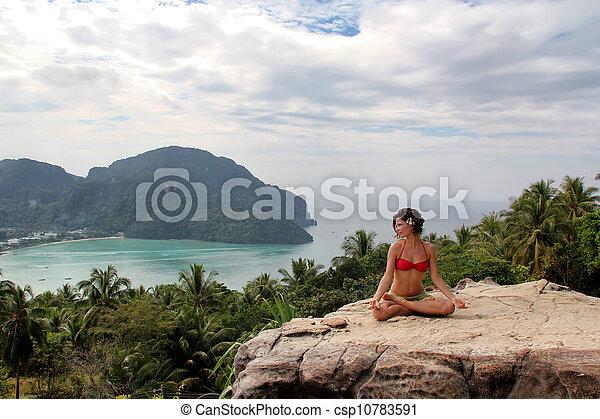 meditación - csp10783591